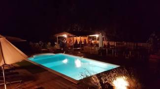 Soirée à la piscine
