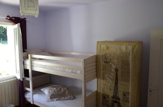 Chambre quadruple (lits superposés 90/190) - (vue sur forêt)
